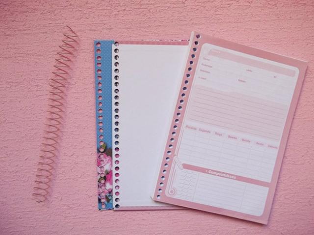 desmontar caderno
