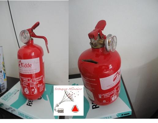 cofre extintor